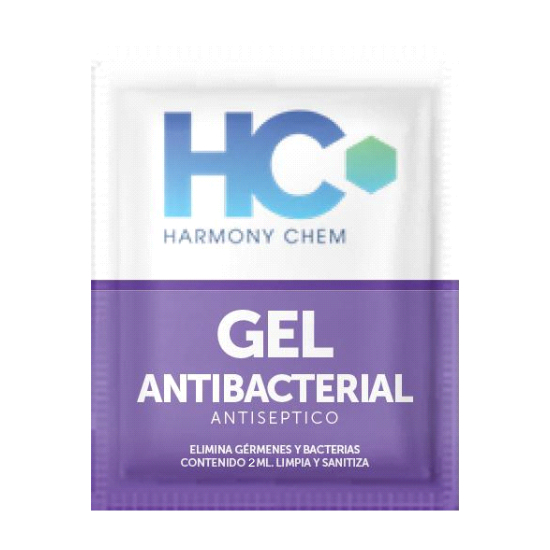 Sobre de Gel-Antibacterial 2ml
