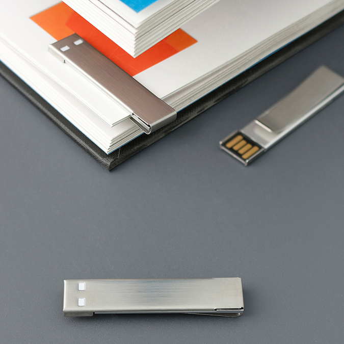 USB Clip S.S. 8GB